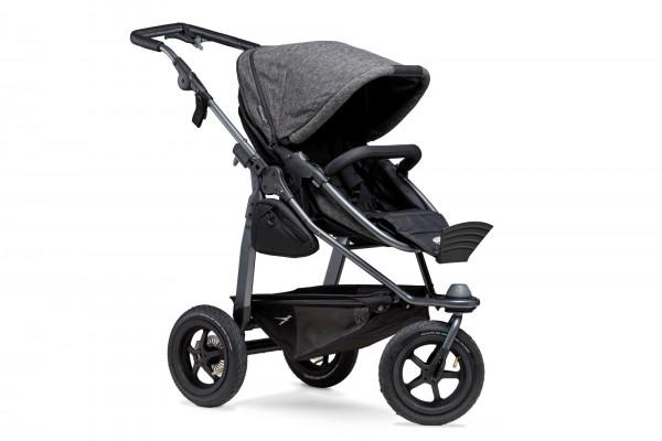 TFK Mono Kombi Kinderwagen premium anthrazit mit Lufträder
