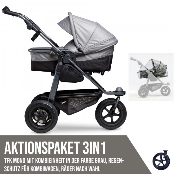 TFK Mono Kombi Aktionspaket 3in1 Premium Grau