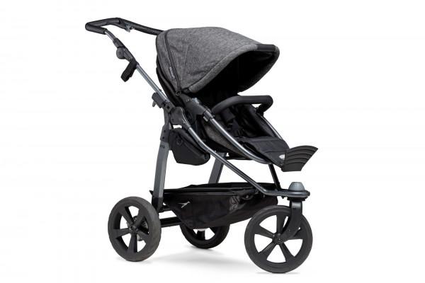 TFK Mono Kombi Kinderwagen premium anthrazit mit Luftkammerräder