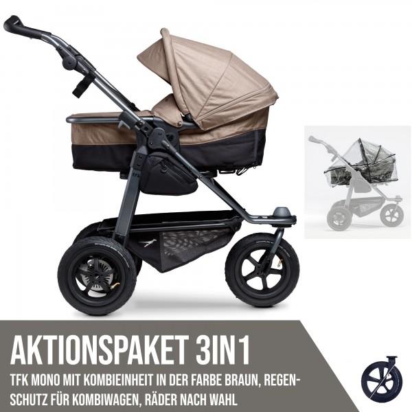 TFK Mono Kombi Aktionspaket 3in1 Braun