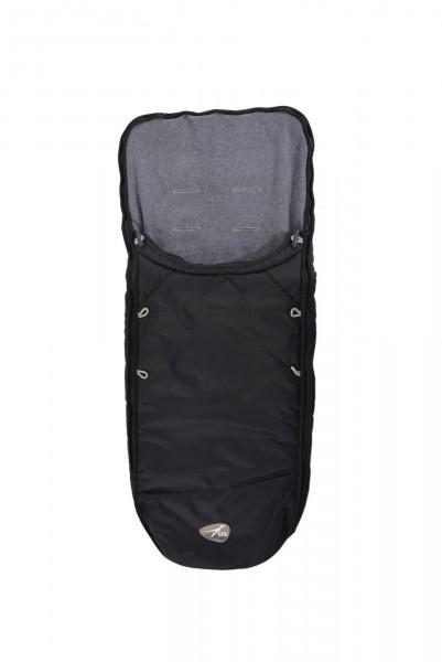 TFK Universal Fleece Fusssack schwarz