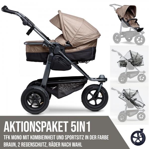 TFK Mono Kombi- & Sport-Aktionspaket 5in1 braun