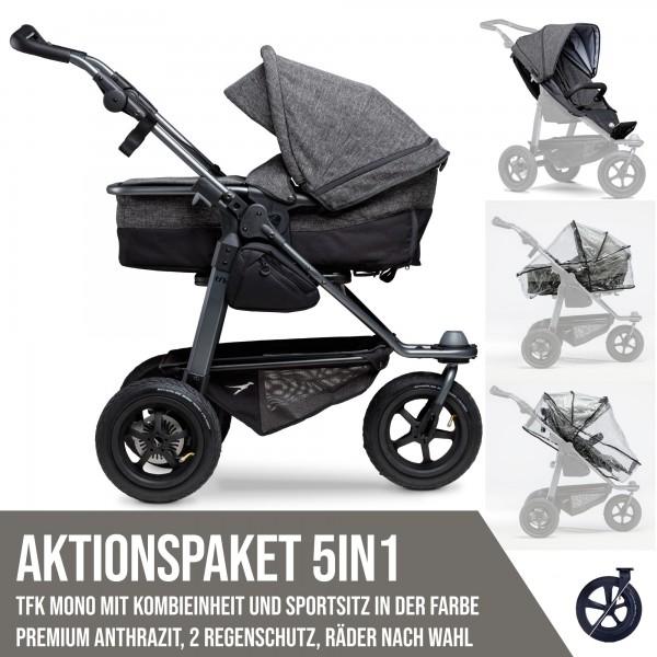 TFK Mono Kombi- & Sport-Aktionspaket 5in1 Premium Anthrazit