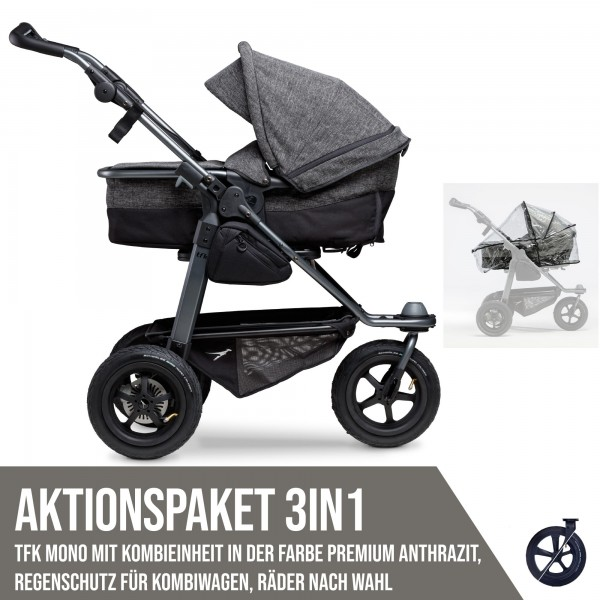 TFK Mono Kombi Aktionspaket 3in1 Premium Anthrazit
